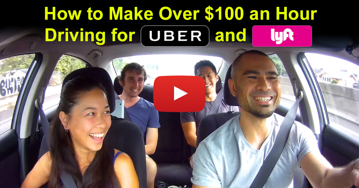 When Do Uber Drivers Get Paid >> How to Make Over $100 an Hour Driving for Uber and Lyft ...